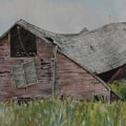 Old Wisconsin Barn Poster