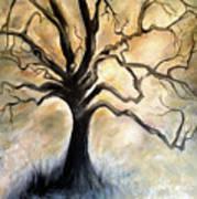 Old Wise Tree Poster