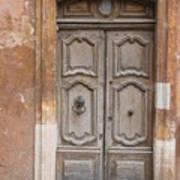 Old Wood Door - France Poster