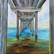 Old Wooden Pier Poster