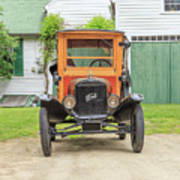 Old Woodie Model T Ford  Poster