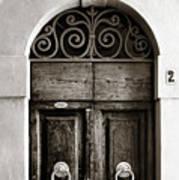 Old World Door Poster