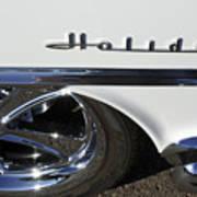 Oldsmobile Holiday Emblem Poster