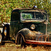 Ole Dodge And Apples Poster