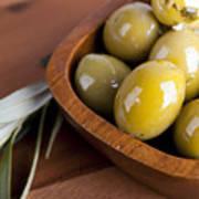 Olive Bowl Poster