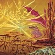 Olivier Messiaen Landscape Poster