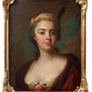 Olof Arenius, Ulrika Eleonora Ribbing Af Zernava 1723-1787 Poster
