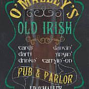 O'malley's Old Irish Pub Poster