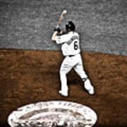 Omar Quintanilla Pro Baseball Player Poster