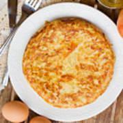 Omelette Tortilla Poster