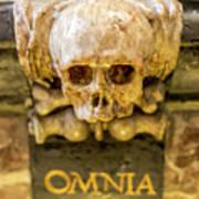Omnia Mors Aequat Poster