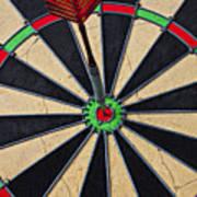 On Target Bullseye Poster