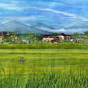 On The Way To Ubud 3 Bali Indonesia Poster
