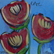 Once Upon A Yoga Mat Poppies 2 Poster