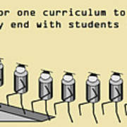 One Curriculum Poster