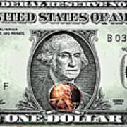 One Dollar - Not What It Used To Be Poster