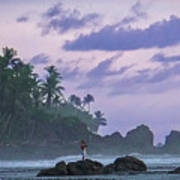 One Man Island Poster