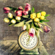 One Pound Tulips Poster
