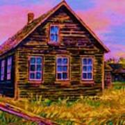 One Room Schoolhouse Poster