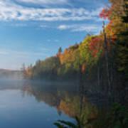 Ontario Autumn Scenery Poster