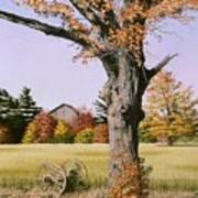 Ontario In October Poster