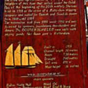 Oosterschelde Story Poster
