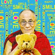 Open Heart, Open Mind - Sky Blue Poster