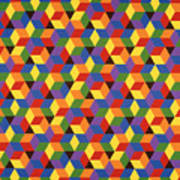 Open Hexagonal Lattice I Poster