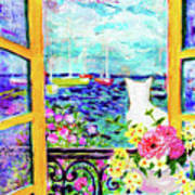 Open Window-colours Poster