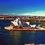 Opera House Sydney Austalia Poster