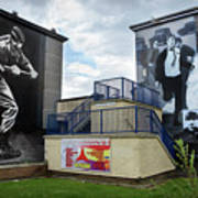 Operation Motorman Mural In Derry Poster
