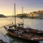 Oporto At Dusk Poster