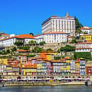 Oporto Riverfront Poster