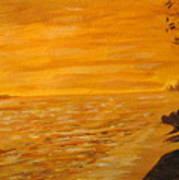 Orange Beach Poster