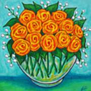 Orange Passion Poster