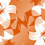 Orange Poster Lilies Poster