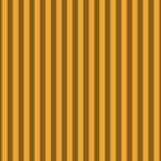 Orange Striped Pattern Design Poster