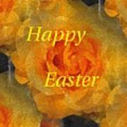 Orange You Lovely Easter Poster