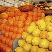 Oranges And Lemons Poster
