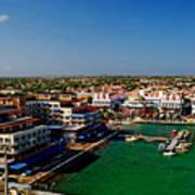 Oranjestad Aruba Poster