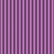 Orchid Purple Striped Pattern Design Poster
