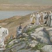 Ordaining Of The Twelve Apostles Poster by Tissot