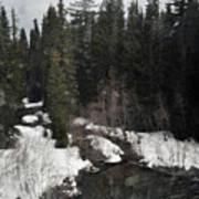 Oregon Cascade Range River Poster