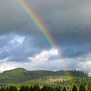 Oregon Rainbow Poster