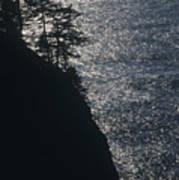 Oregon Silhouette Poster