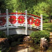 Orient - Bridge - Tranquility Poster