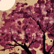 Oriental Plum Blossom Poster