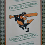 Orioles Spring Training Poster