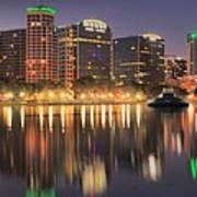 Orlando Sunrise Panorama Poster