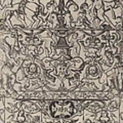 Ornament Panel: Mars, God Of Battles Poster